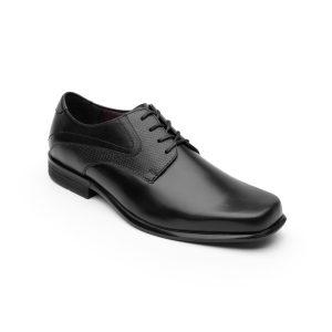 Zapato De Vestir Urbano Flexi Con Combinación De Texturas Para Hombre – Estilo 400204