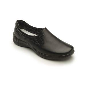 Flat casual negro modelo 48302